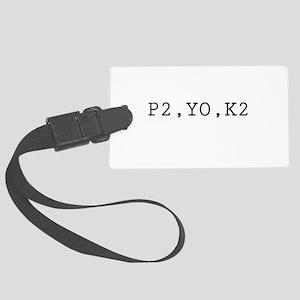 p2yok2 Large Luggage Tag