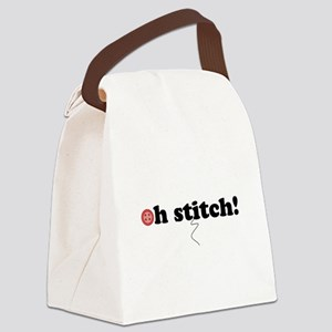 ohstitch! Canvas Lunch Bag