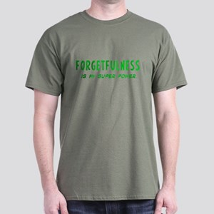 Super Power: Forgetfulness Dark T-Shirt