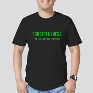 Super Power: Forgetfulness Men's Fitted T-Shirt (d