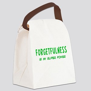 Super Power: Forgetfulness Canvas Lunch Bag