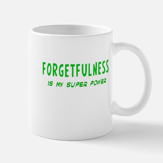 Super Power: Forgetfulness Mug