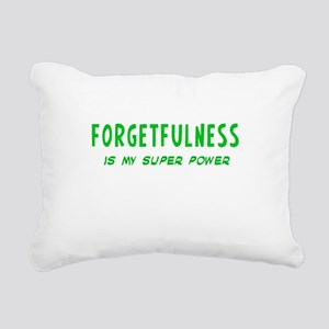 Super Power: Forgetfulness Rectangular Canvas Pill