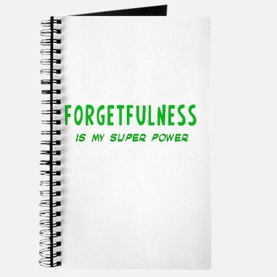 Super Power: Forgetfulness Journal