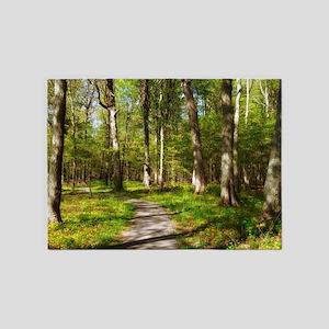 Hiking Trail 5'x7'Area Rug