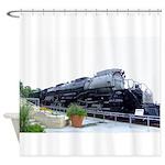 Big Boy Steam Engine Shower Curtain