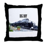 Big Boy Steam Engine Throw Pillow