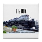 Big Boy Steam Engine Tile Coaster