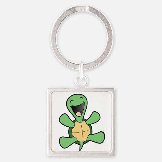 Skuzzo Happy Turtle Square Keychain