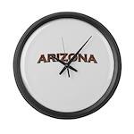 Copper Arizona Large Wall Clock