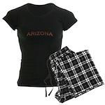 Copper Arizona Women's Dark Pajamas