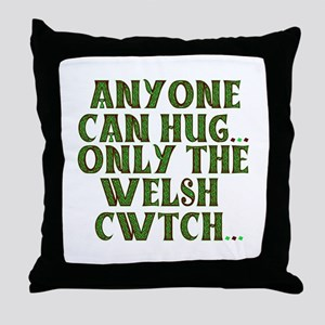 Hug & Cwtch Throw Pillow