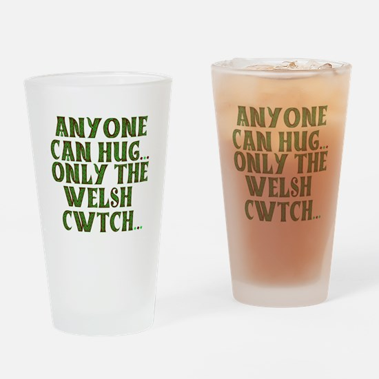 Hug & Cwtch Drinking Glass