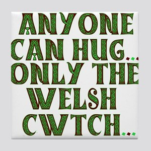 Hug & Cwtch Tile Coaster