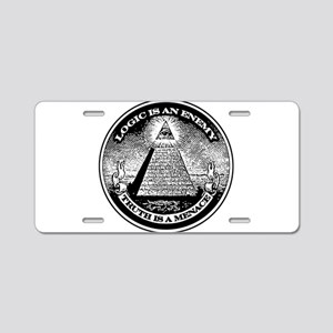 LOGIC IS AN ENEMY / TRUTH IS A MENACE Aluminum Lic
