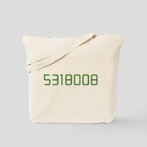 Calculator 5318008 Boobies Tote Bag