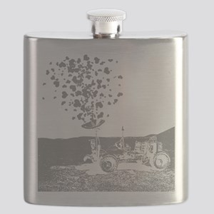 Lunar Rover Of Love Grey Flask