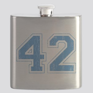 Retro Number 42 Flask