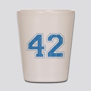 Retro Number 42 Shot Glass