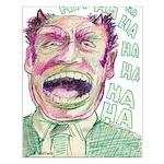 """""""HA HA HA"""" Small Poster"""