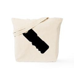 Stun Gun Shock Tote Bag