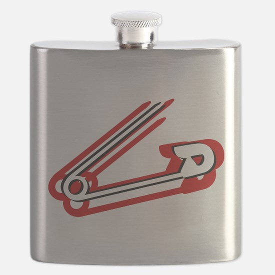 Safety Pin Flask