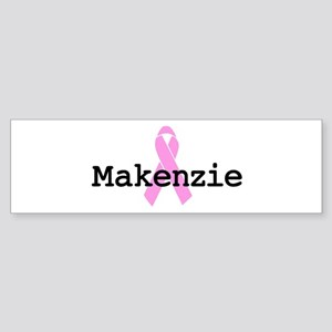 BC Awareness: Makenzie Bumper Sticker