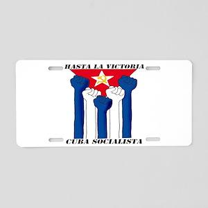 Socialista! Aluminum License Plate