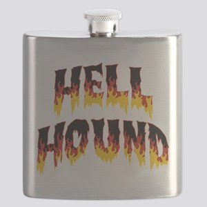 Retro Hell Hound Flask