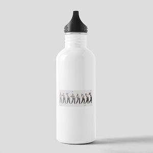 golf swing Sports Water Bottle