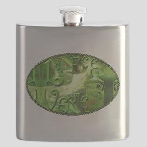 La Fee Verte Collage Flask