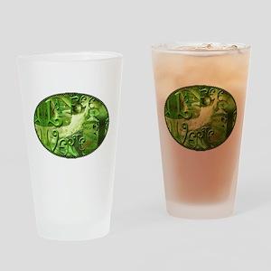 La Fee Verte Collage Drinking Glass