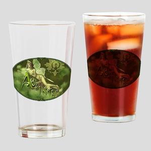 Absinthe Fairy Collage Drinking Glass