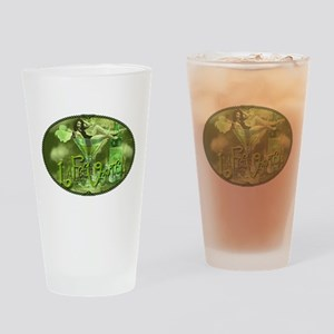 La Fee Verte In Glass Collage Drinking Glass