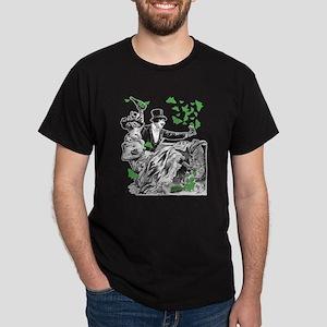 Vintage Couple Carousing Dark T-Shirt