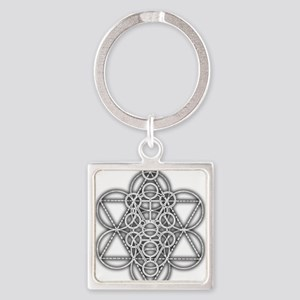 Unity Consciousness Square Keychain