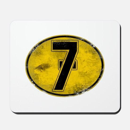 Lucky 7 Mousepad