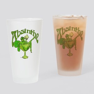 Absinthe Green Fairy In Glass Drinking Glass