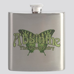 Absinthe The Green Fairy Wings Flask