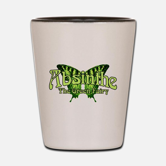 Absinthe The Green Fairy Wings Shot Glass