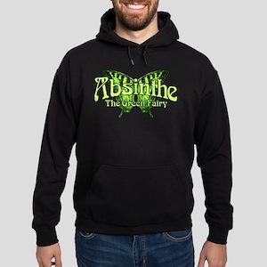 Absinthe The Green Fairy Wings Hoodie (dark)