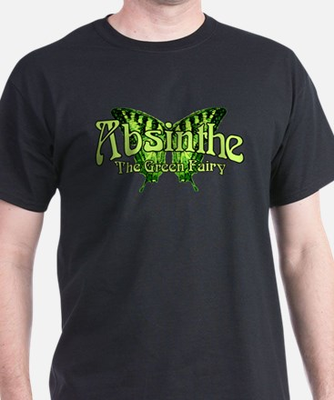 Absinthe The Green Fairy Wings T-Shirt