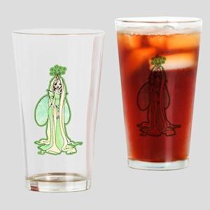 Green Fairy Princess Drinking Glass
