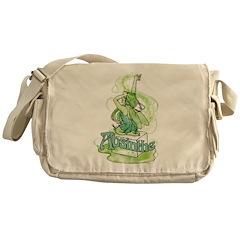 Absinthe Sugar Cube Fairy Messenger Bag