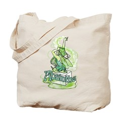 Absinthe Sugar Cube Fairy Tote Bag