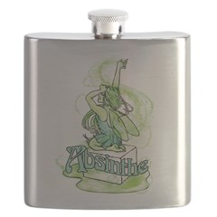 Absinthe Sugar Cube Fairy Flask