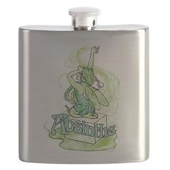 Absinthe Sugar Cube Fairy Flask