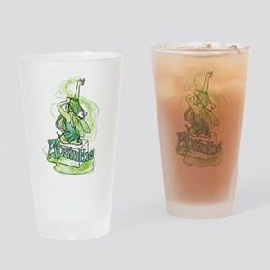 Absinthe Sugar Cube Fairy Drinking Glass