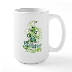 Absinthe Sugar Cube Fairy Large Mug