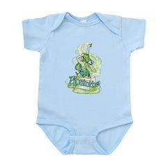 Absinthe Sugar Cube Fairy Infant Bodysuit